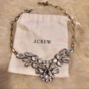 J. Crew crystal statement necklace